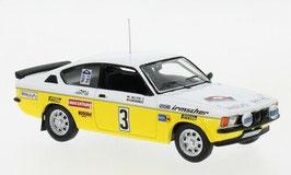 Opel Kadett C GT/E #3 Irmscher Tuning Rallye WM Hundsrück 1978 A. Warmbold / W. Pitz