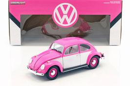 VW Käfer 1967-1970 RHD pink / weiss