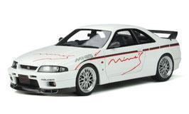 Nissan Skyline GT-R R33 MineS 1998 weiss / Decor