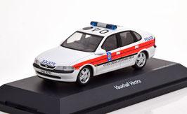 Vauxhall Vectra B Sedan 1997 Police Lancashire weiss / orange