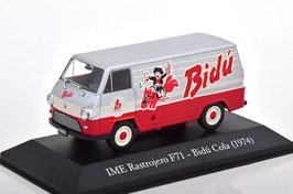 "IAME Rastrojero F71 Lieferwagen ""Bidú Cola 1974 silber / rot"""