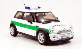 Mini Cooper 2001-2006 Polizei Deutschland weiss / grün