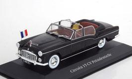 "Citroën 15 CV Chapron ""René Coty France President Car"" 1957 schwarz"