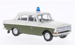 Moskwitsch 412 1969-1975 Volkspolizei DDR weiss / dunkelgrün