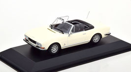 Peugeot 504 Cabriolet Phase II 1974-1979 weiss