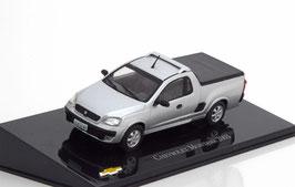 Chevrolet Montana I Pick Up 2003-2010 silber met. / schwarz / Brasil