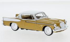 Studebaker Golden Hawk 1956-1958 gold met. / weiss