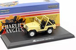 """Jeep CJ-5 Phase II 1976-1983 gelb """"TV- Serie Drei Engel für Charlie 1976-1981"""""""