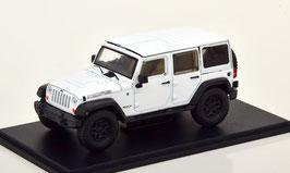 Jeep Wrangler Unlimited MOAB 2013 weiss / schwarz