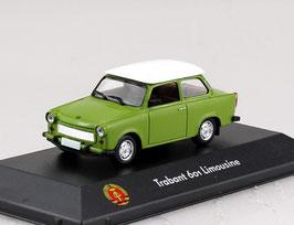 NEU: Trabant 601 Limousine 1964-1988 grün / weiss