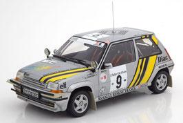 Renault 5 GT Turbo Super Cinq #9 Rallye Cote d'Ivoire 1989 A. Oreille / G. Thimonier