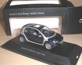 Smart Fourfor 2004-2006 Star blau met. / silber met.