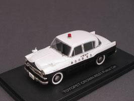 Toyota Toyopet Crown RS21 1960 Police schwarz / weiss