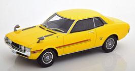 Toyota Celica GT R22 1970 RHD hellgelb / rot