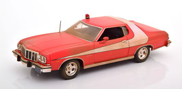 """Ford Gran Torino 1976 """"TV-Serie Starsky and Hutch 1975-1979 Dirt Look rot /weiß"""""""