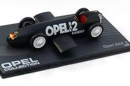 Opel RAK 2 Rekord-Rennwagen 1928 schwarz / weiss