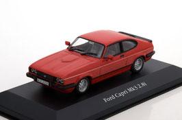 Ford Capri MK III 2.8i 1981-1986 RHD rot