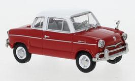 NSU Prinz 30E 1958-1960 rot / weiss