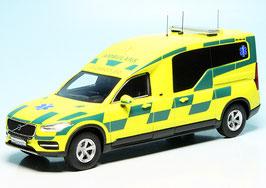 Volvo XC90 II Nilsson Ambulance Schweden gelb / grün / schwarz