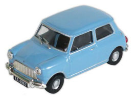 Morris Mini Minor MK I 1959-1967 hellblau