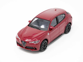 Alfa Romeo Stelvio seit 2017 dunkelrot met.