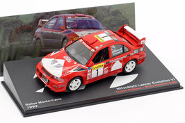 Mitsubishi Lancer Evolution VI #1 Rallye Carlo 1999 T. Makinen / R. Mannisen