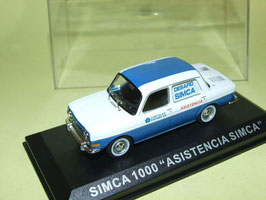Simca 1000 Assistancia Recovery 1961-1968