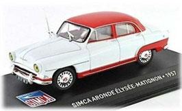 Simca Aronde Elysee-Matignon 1957 rot / weiss