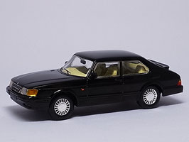 SAAB 900 S Coupé 1986-1993 schwarz