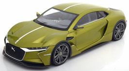 Citroën DS E-Tense Concept Car Auto Salon Genf 2016 olivgrün met.