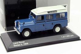 Land Rover 109 Series III 1971-1984 blau / weiss
