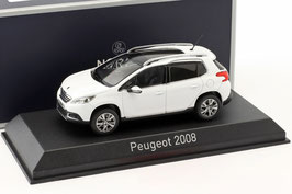 Peugeot 2008 Phase I 2013-2016 weiss