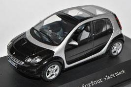 Smart Forfour 2004-2006 jack black / silber met.