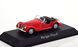 Morgan Plus 8 Roadster 1976-1983 rot