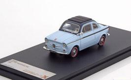 NSU Fiat Weinsberg 500 1959-1963 hellblau / dunkelblau / Faltdach schwarz