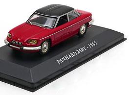 Panhard 24 BT 1964-1967 dunkelrot / matt-schwarz