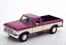 Ford F-150 Pick Up 1978-1979 Purple met. / creme