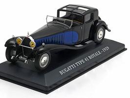 Bugatti Type 41 Royal 1926-1933 schwarz / blau