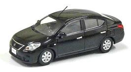 Nissan Latio Phase I 2011-2015 RHD schwarz