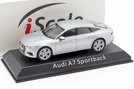Audi A7 Sportback C8 seit 2018 silber met.