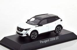 Peugeot 2008 II GT seit 2020 weiss / schwarz