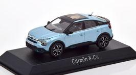 Citroën C4 III / ë-C4 seit 2021 hellblau met. / schwarz