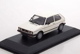 VW Golf I GTI Phase III 1983 weiss