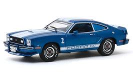 Ford Mustang II Cobra II 1976 blau / weiss