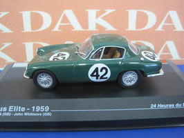 Lotus Elite #42 24h LeMans 1959 Jim Clark GB / John Whitmore GB dunkelgrün