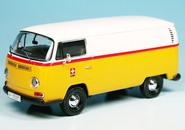"VW T2a Kastenwagen 1967-1971 ""PTT Post Schweiz gelb / weiss / rot"""