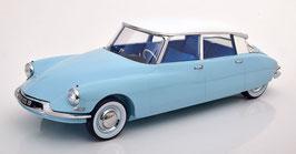 Citroën DS 19 Berline 1959 hellblau / weiss