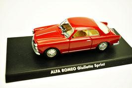 Alfa Romeo Giulietta Sprint Phase I 1954-1959 rot