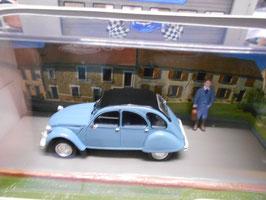"Citroën 2CV 6 ""Medicin Doctor"" blau / schwarz"