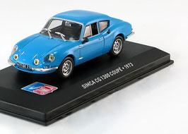 Simca CG 1300 Coupé 1972-1974 hellblau